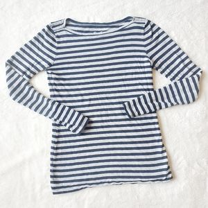J CREW nautical boat neck painter tee